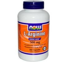 L-Arginine 500mg (250капс)